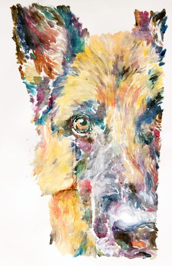 Dogs Monoprints