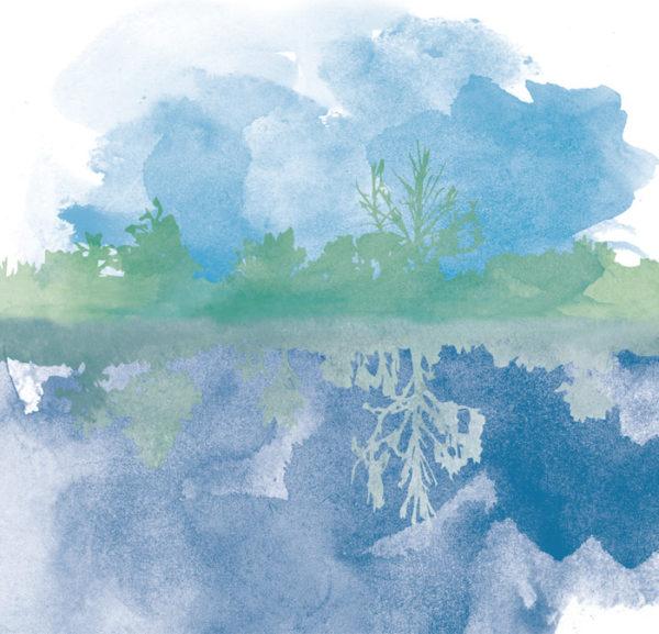 Overlap colour illustration